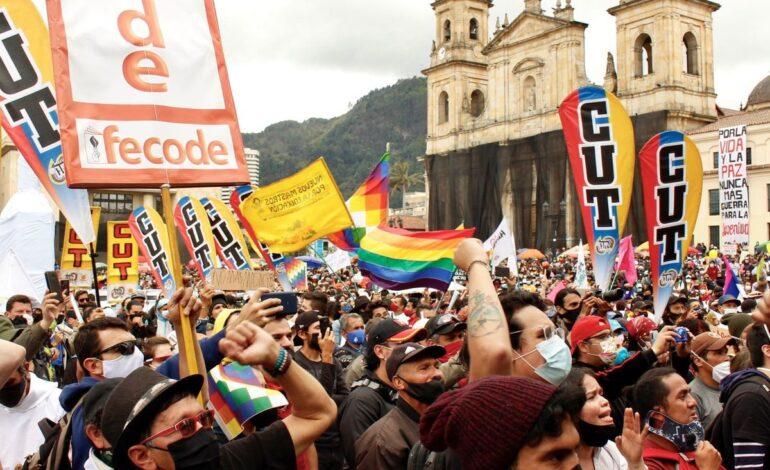 Avanza el Paro Nacional en Bogotá