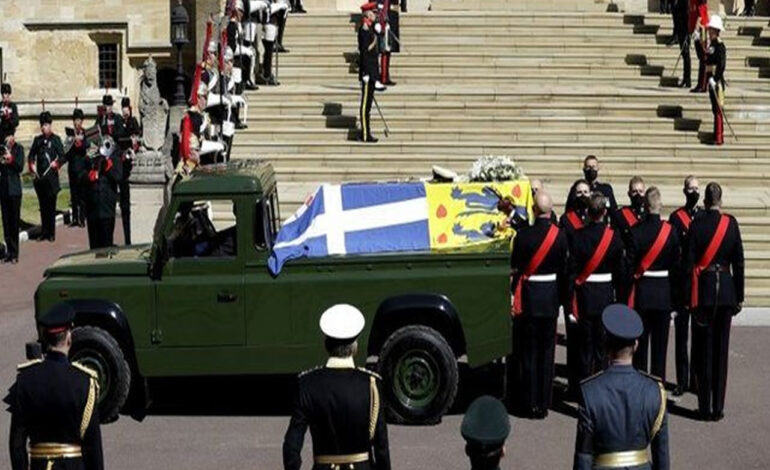 Así fue el funeral del Duque de Edimburgo