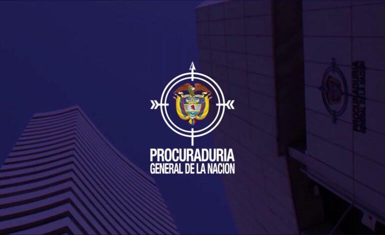 Procuraduría General de la Nación adelanta 154 acciones disciplinarias por hechos relacionados con las jornadas de protestas