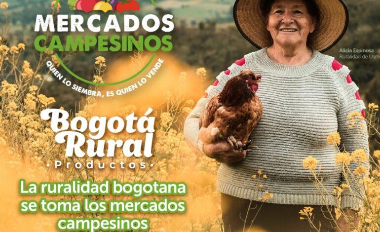 Maratón de Mercados Campesinos este fin de semana en Bogotá