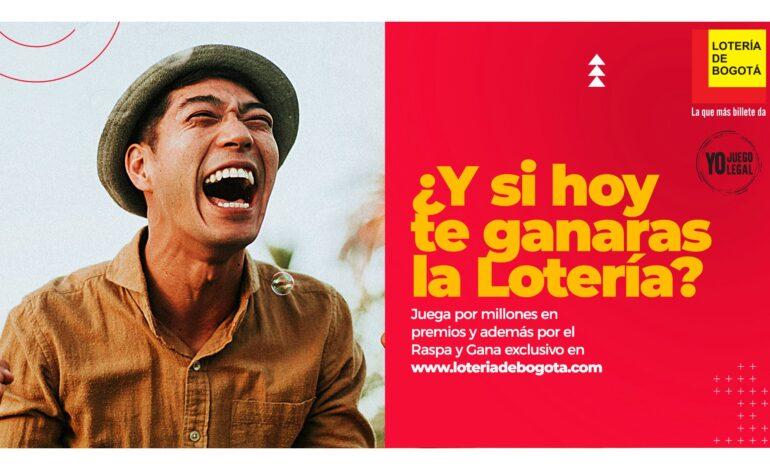 300 mil ganadores tuvo el Sorteo Extraordinario de la Lotería de Bogotá