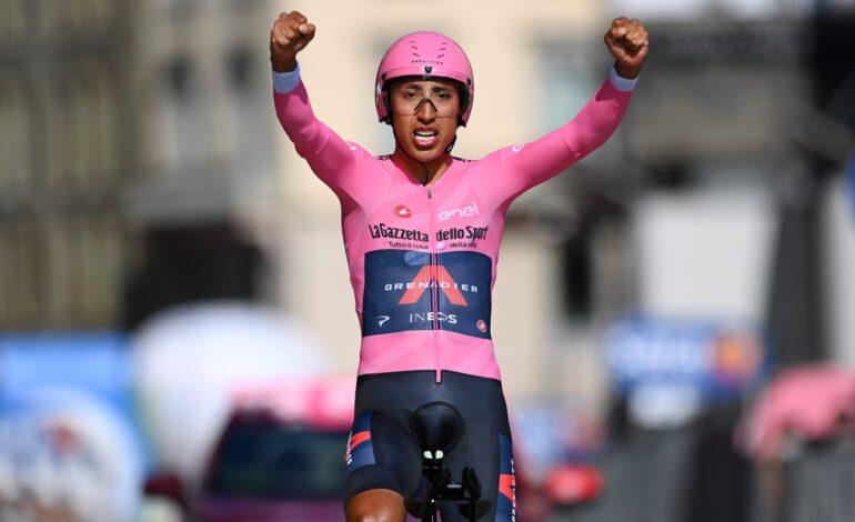 Egan Bernal campeón del Giro de Italia