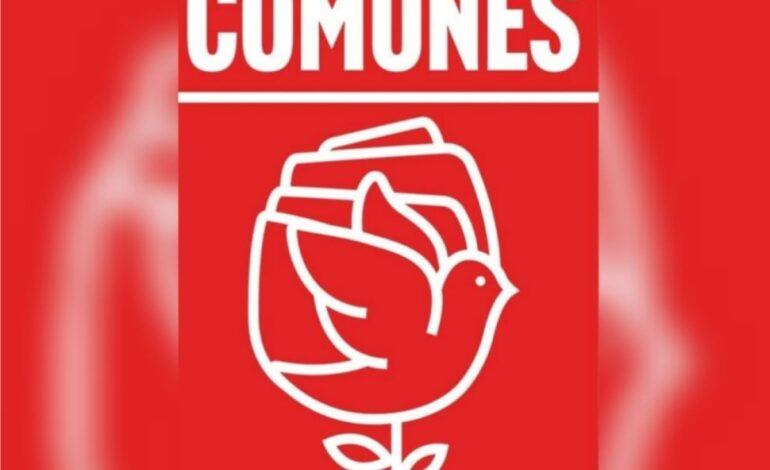 No más violencia y represión: Comunes