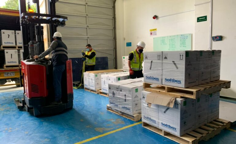 Colombia recibió este miércoles nuevo lote de 391.950 dosis de Pfizer