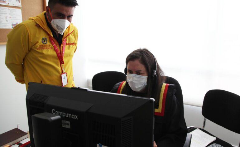 Plan de modernización tecnológica en la Comisaría de Familia de Barrios Unidos