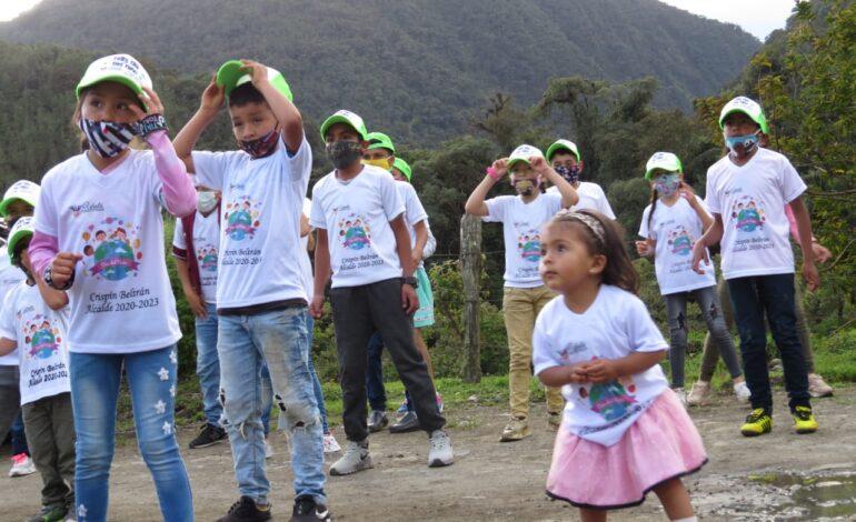 Ubalá, Cundinamarca hizo campaña con la niñez diciendo no a la violencia