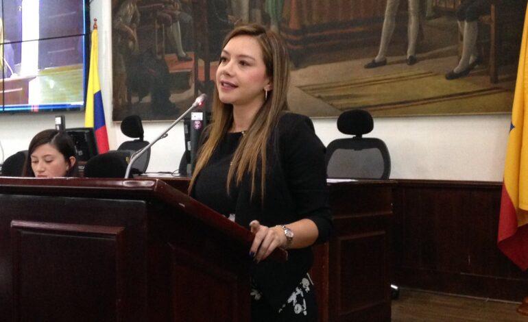 Bogotá tendría tres años consecutivos de déficit fiscal: Gloria Díaz