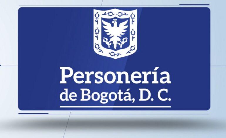Personería de Bogotá se pronuncia sobre situación en Parque mundo y portal Américas