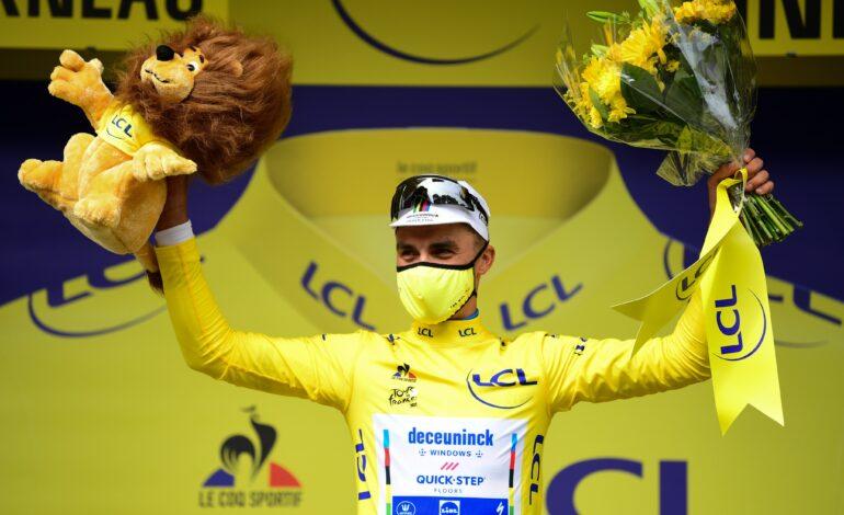 Julian Alaphilippe se quedó con la primera etapa del Tour de Francia
