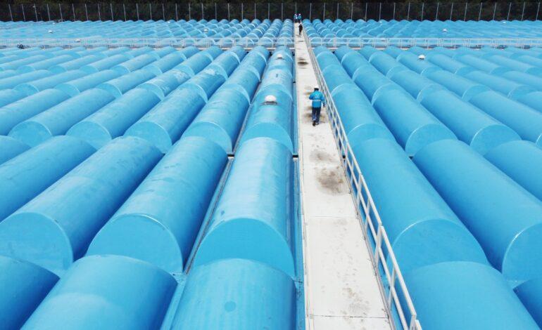 Tanque de almacenamiento de agua más grande de Bogotá estrena cubierta