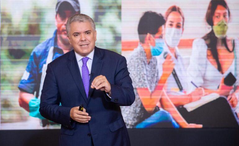 Presidente Duque lanzó estrategia para formación y empleo de jóvenes