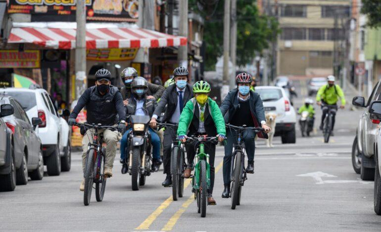 """""""Durante este cuatrienio vamos a construir más de 800 kilómetros en ciclorutas"""": alcaldesa Claudia López"""
