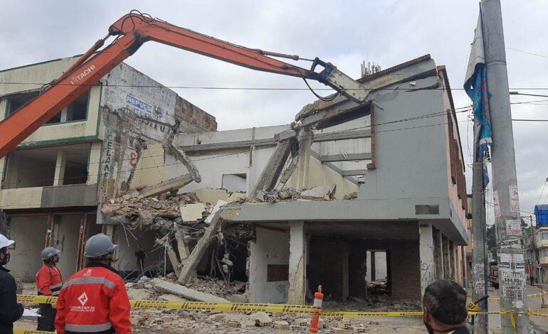 Continúa demolición de predios para el futuro proyecto Avenida Centenario – Calle 13
