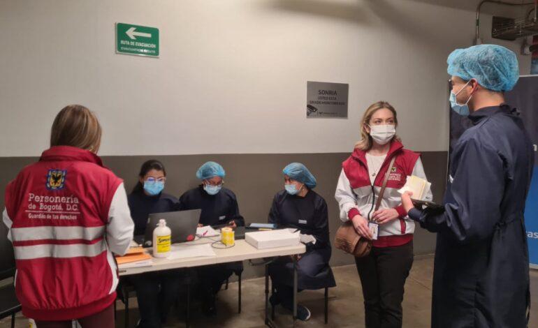 Personería de Bogotá inmunizará contra el Covid-19 a sus servidores