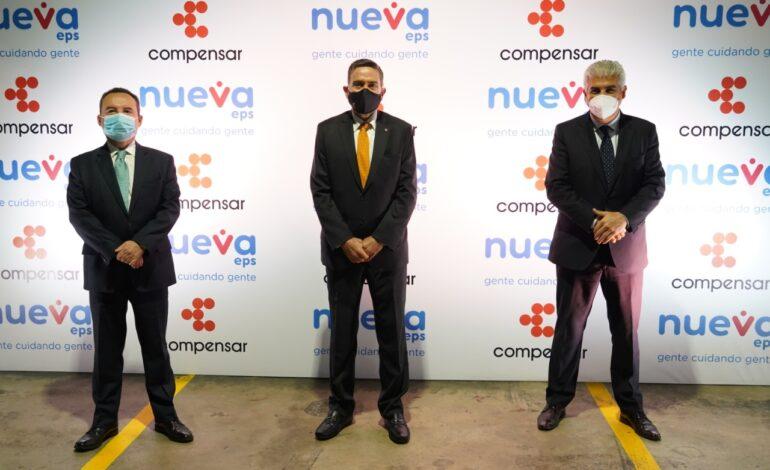 COMPENSAR y NUEVA EPS abren en Corferias el punto de vacunación contra el Covid-19 más grande del país