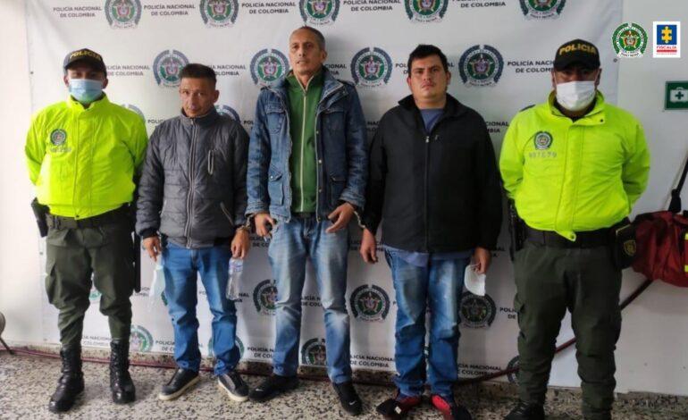 Desarticulado el grupo delincuencial Los Chacales, dedicado al hurto en Bogotá