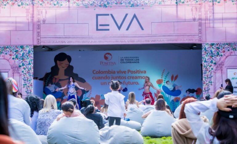 Alcaldesa Mayor Claudia López visitó la Feria EVA: la feria en el país que apoya la reactivación económica del emprendimiento femenino
