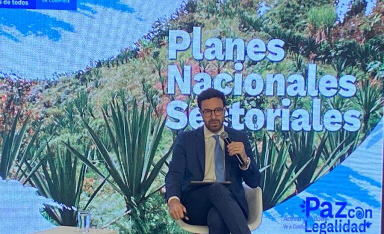 16 planes nacionales sectoriales harán irreversible transformación rural