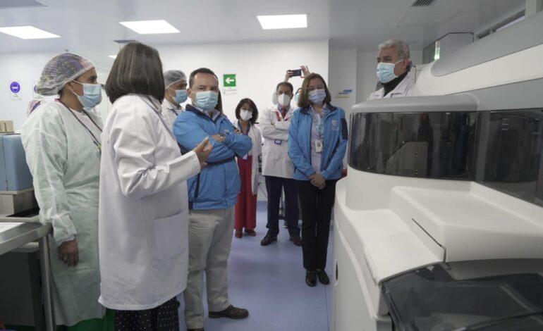 Hospital Simón Bolívar inaugura laboratorio clínico automatizado, el más moderno de la red hospitalaria pública de Bogotá