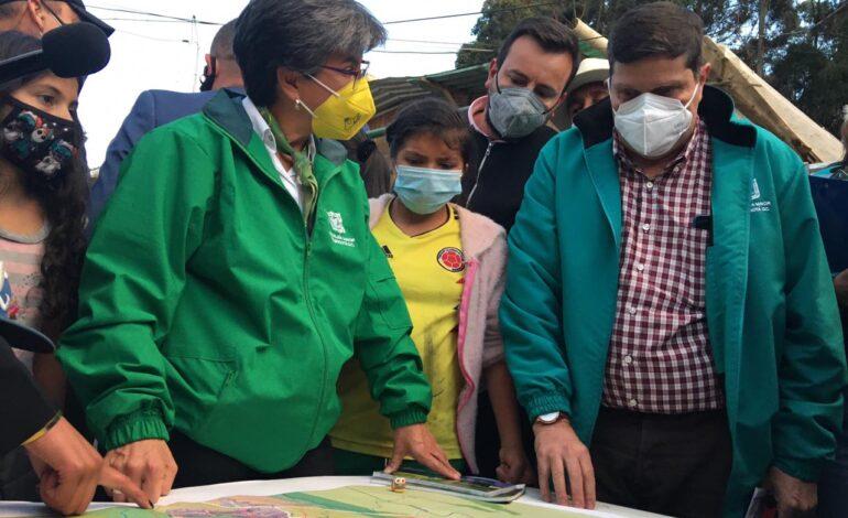 El Distrito la a través de la Caja de la Vivienda Popular invertirá $65 mil millones en ocho localidades de Bogotá