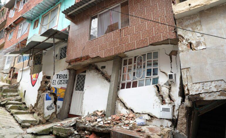 194 ocupaciones ilegales en Cerros Orientales en peligro de colapso: Personería de Bogotá