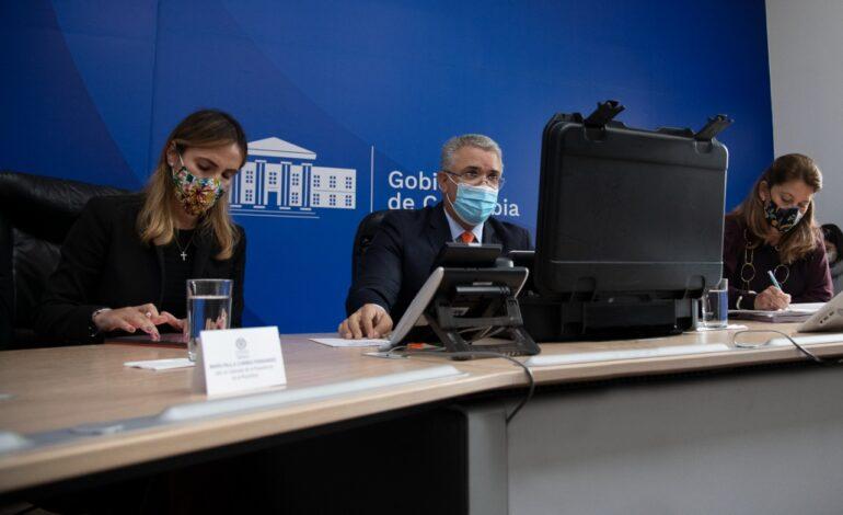 Como Presidente, seguiré llegando a cualquier rincón de Colombia, porque para nosotros no existen territorios vedados: Duque