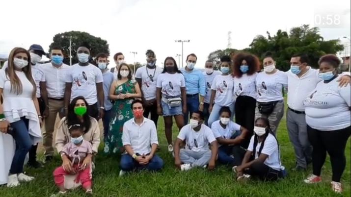 """Catalina Ortiz visita Buenaventura y Tumaco para conversar con la juventud de la región Pacífica colombiana en """"Los jóvenes tienen la palabra"""""""