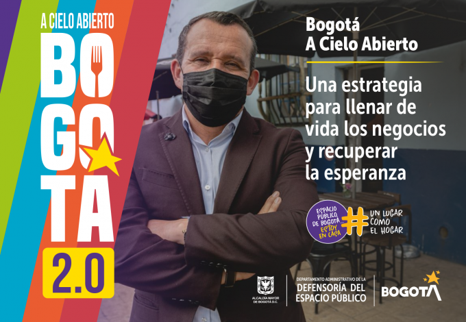 Proyecto de decreto de Bogotá A Cielo Abierto 2.0 ha garantizado la participación de comerciantes para su creación