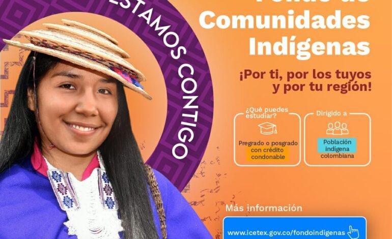 Jóvenes de comunidades indígenas se pueden inscribir a fondo para acceder a educación superior
