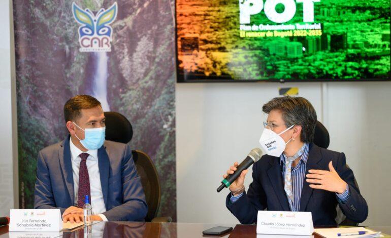Distrito y Corporación Autónoma Regional logran concertación ambiental del Plan de Ordenamiento Territorial