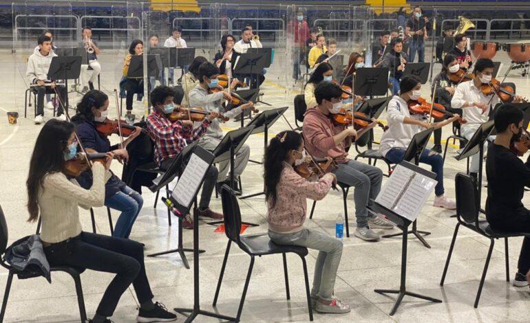 Iniciaron los ensayos presenciales de la Orquesta Prejuvenil Metropolitana Bogotá-Cundinamarca