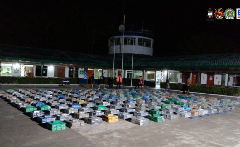 Incautado gigantesco cargamento de cocaína del Clan del Golfo con destino a Centroamérica