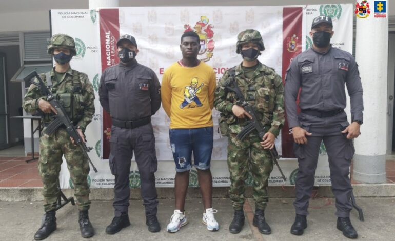 Detenido presunto disidente de las FARC investigado por posible participación en homicidio colectivo en Nariño