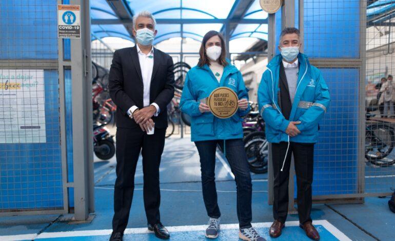 La red de cicloparqueaderos certificados de Bogotá suma más de 19.100 cupos