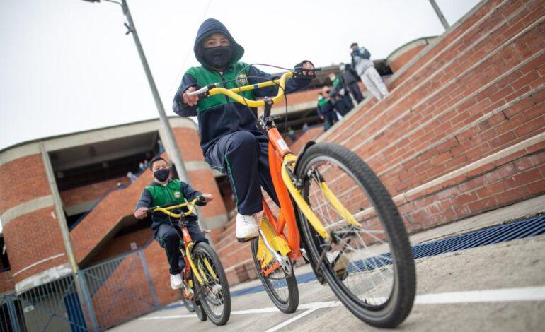 Por primera vez 'Al Colegio en Bici' operará en una zona rural de Bogotá