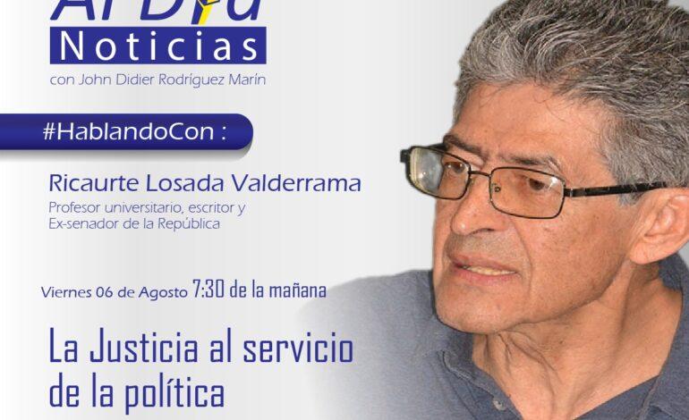 Asamblea Constituyente es urgente en Colombia: Ricaurte Losada