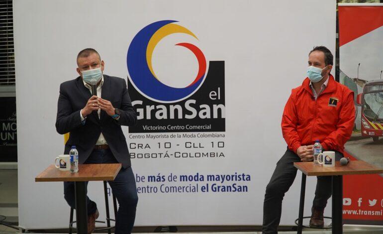 TransMilenio y el GranSan entregan 100 mil tapabocas para usuarios