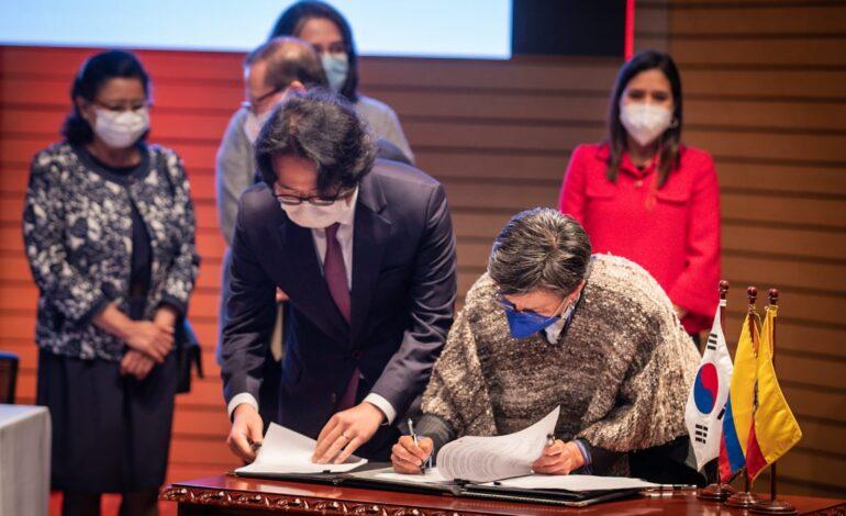 Bogotá recibe donación de 4.5 millones de dólares de Corea para la atención del Post-COVID