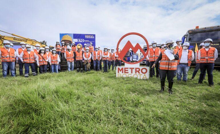 Empezaron obras del Patio Taller del Metro de Bogotá