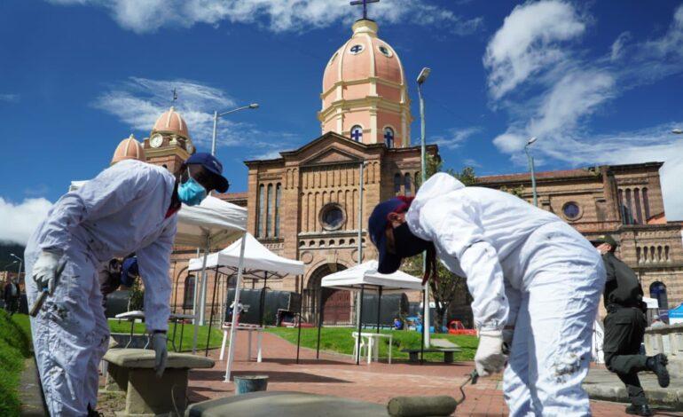 En el Mes del Espacio Público, Distrito y comunidad recuperan patrimonio histórico de Bogotá