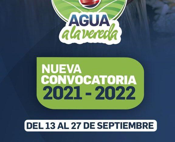Cundinamarca invertirá 11 mil millones para acueductos veredales