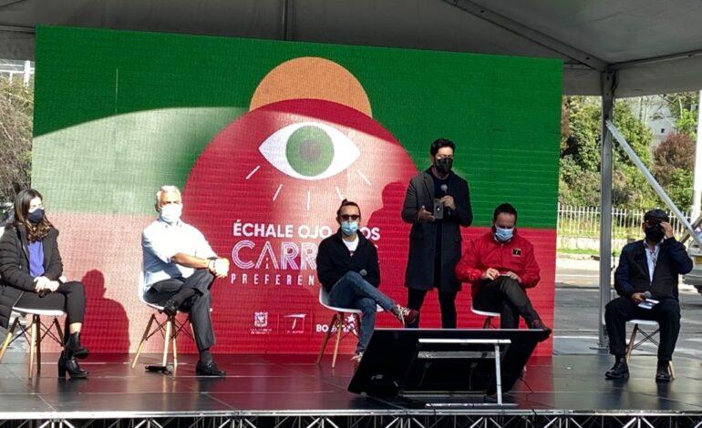'Échale ojo a los carriles preferenciales' en Bogotá