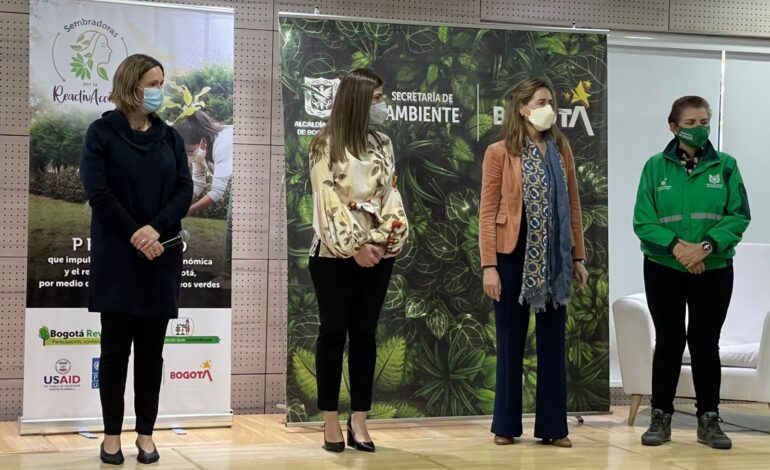 Se abre convocatoria para 1.070 empleos verdes dirigidos a mujeres