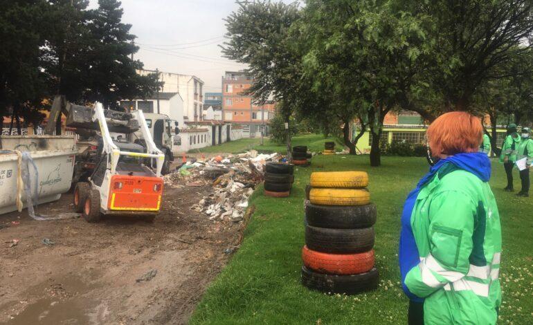 Se normaliza recolección de residuos en puntos críticos de Kennedy y Fontibón: UAESP